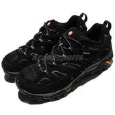 Merrell 戶外鞋 Moab 2 GTX 黑 灰 Gore-Tex 防水 透氣 越野 休閒鞋 運動鞋 男鞋【PUMP306】 ML06037