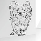 壁貼 狗狗 動物居家裝飾牆貼《生活美學》