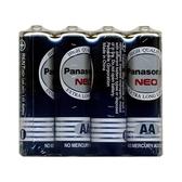 Panasonic 國際牌 3號碳鋅電池黑色AA 環保型4入