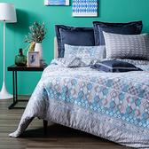 HOLA 邁安諾純棉床包兩用被組 雙人