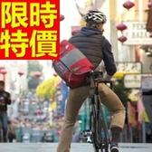 尼龍側背包-休閒可肩背實用潮流男女郵差包1色57b36【巴黎精品】