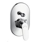 【麗室衛浴】德國頂級HANSGROHE   Focus 二路開關面板(鉻)  31947