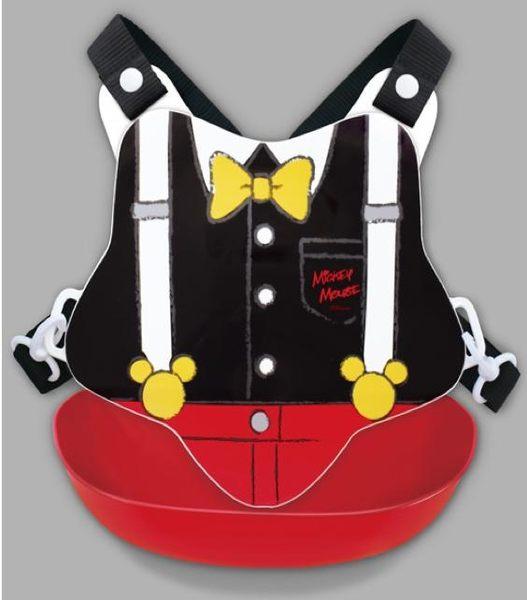 日本迪士尼米奇圍兜防漏寶寶圍兜吊帶褲造型360721通販屋