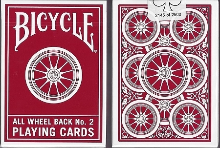 【USPCC 撲克】撲克牌  Bicycle all wheel No.2 playing cards