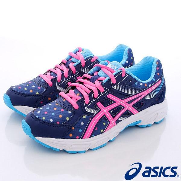 ASICS亞瑟士 女款 GEL-CONTEND 3 繽紛 超可愛 GS 運動鞋C566N-4920 [陽光樂活]