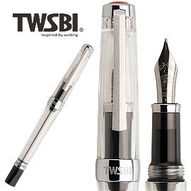臺灣 TWSBI 三文堂 VAC 700R 透明桿活塞上墨鋼筆 / 支