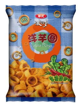 華元波的多洋芋圈-辛浪海苔口味98g/每組2包【合迷雅好物超級商城】
