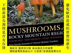 二手書博民逛書店Mushrooms罕見of the Rocky Mountain