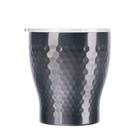 金時代書香咖啡 Tiamo 真空錘紋陶瓷杯 230ml 鈦黑 HE5164TBK