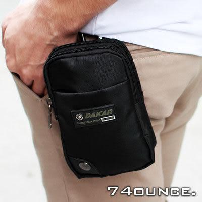 74盎司[N-236] 街頭潮流功能尼龍腰掛包/手機包/零錢包(腰包) 行動電源