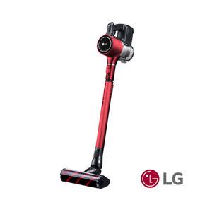 LG直立式手持無線吸塵器紅A9BEDDING