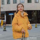 冬裝新款ins韓版短款加厚羽絨棉衣女百搭學生外套面包服棉襖『小宅妮時尚』