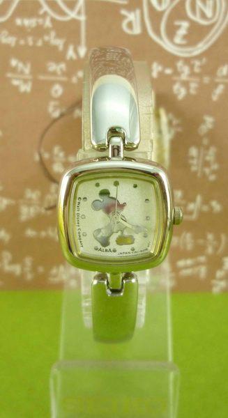 【震撼精品百貨】米奇/米妮_Micky Mouse~限量方形手錶-銀站姿#53503