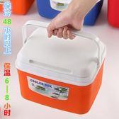 保溫箱家用保鮮箱冷藏箱小號戶外便攜塑料釣魚箱車載外賣送餐箱子 挪威森林