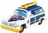 《 TOMICA 》DM 環遊世界系列-唐老鴨旅行車 / JOYBUS玩具百貨