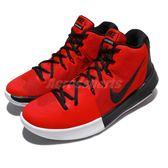 Nike 籃球鞋 Air Integrate 紅 黑 運動鞋 高筒 後跟外露式氣墊 男鞋【PUMP306】 898453-600
