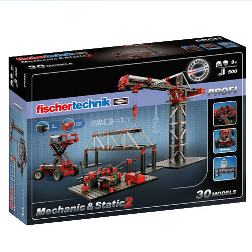 fischertechnik慧魚 Mechanic2機械力學組2代 塑膠盒