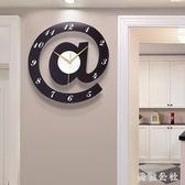 時尚家用臥室鐘表創意簡約小掛鐘個性餐廳時鐘靜音裝飾掛表OB4535『美鞋公社』