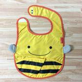 日本SKIP HOP ZOO Bib動物寶寶圍兜 防水圍兜(小蜜蜂)-超級BABY