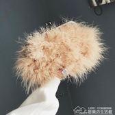 秋冬上新純色小包包女潮韓版百搭斜挎單肩時尚鏈條毛毛包 居樂坊生活館