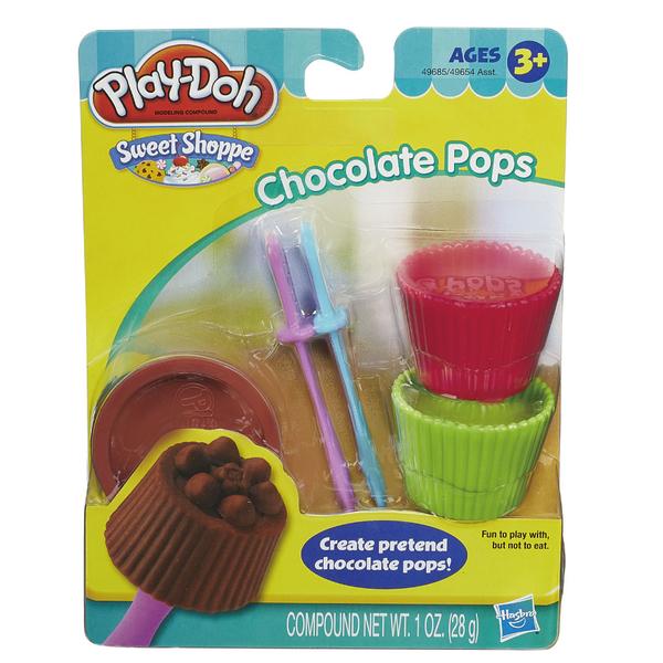 Play-Doh培樂多-迷你甜點工具組-巧克力