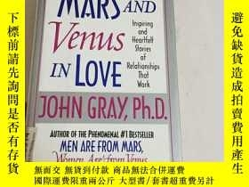 二手書博民逛書店Mars罕見and Venus in Love: Inspiring and Heartfelt Stories