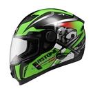 【東門城】ASTONE ROADSTAR WW13 (黑/綠) 全罩式安全帽