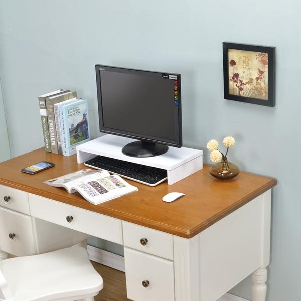 ONE HOUSE-DIY家具-防潑水桌上型置物架/螢幕架/五色可選