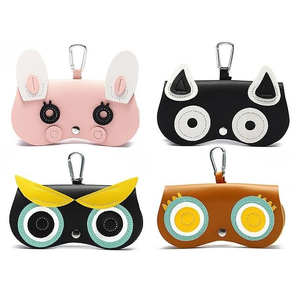 造型眼鏡收納盒(1入) 款式可選 【小三美日】