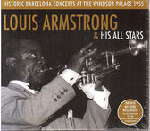 【正版全新CD清倉 4.5折】Louis Armstrong : Historic Barcelona Concerts At The Windsor Palace 1955 (2CD限量紙盒版)