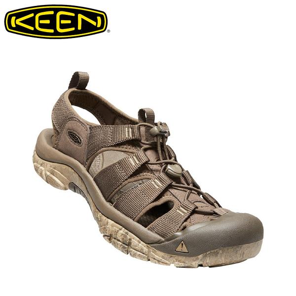 【KEEN 美國 男 NEWPORT H2 護趾涼鞋《咖啡/淺咖啡》】1020287/輕量透氣/水陸兩用鞋/溯溪鞋/透氣快乾