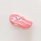 韓國潮款五花肉培根化妝包學生可愛女個性創意搞怪毛絨筆袋文具盒 喵小姐