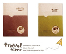 青青文具 簡單生活系列 25K口袋旅行手札本 CD-2551