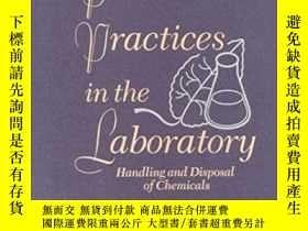 二手書博民逛書店Prudent罕見Practices In The Laboratory: Handling And Dispos