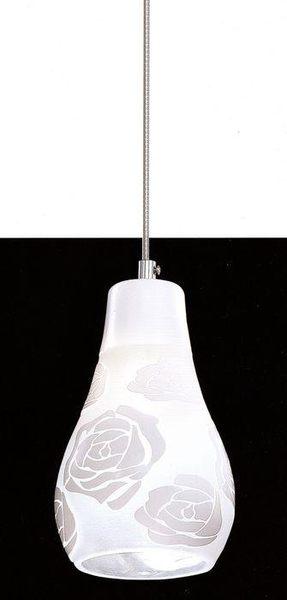 白玫瑰單吊燈─高24寬12─E27 X 1【雅典娜家飾】A707763