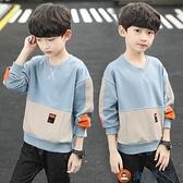 男童長袖T恤中大童衛衣加絨打底衫兒童上衣春秋裝【淘夢屋】