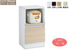 【UHO】艾美爾1.4尺一拉一抽餐櫃/耐燃低甲醛/免運送費 HO18-730-8