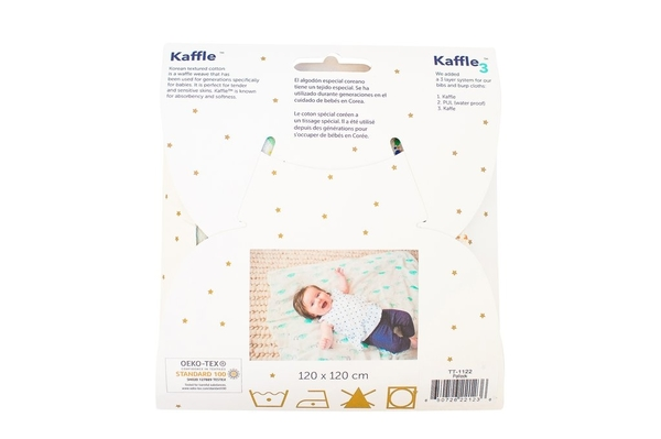 美國tiny twinkle Swaddle Blanket Single 紗布巾單入-小鳥
