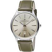 Hamilton漢米爾頓紐約星嵐系列極簡時尚機械腕錶      H38525811