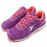 DIADORA 慢跑鞋 紫 粉紅 TPU動能輕跑鞋 高緩震高透氣 基本款 運動鞋 女鞋【PUMP306】 DA7AWR5517