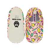 英國POCONIDO 手工鞋 嬰兒鞋 學步鞋-蜜桃棒棒糖 (6~24M)