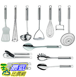 [103美國直購] 烹飪工具12件套 1872019999  WMF Profi Plus Ultimate Cooking Utensil Kitchen Tools 12 Piece Set