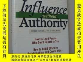 二手書博民逛書店Influence罕見without Authority (se
