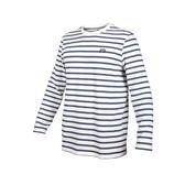 PUMA 男流行系列條紋長袖薄T恤(純棉 長袖上衣 路跑 慢跑 運動≡體院≡ 581321
