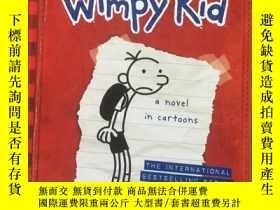 二手書博民逛書店Diary罕見of a Wimpy Kid:Greg Heffe