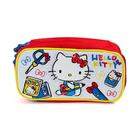 【震撼精品百貨】Hello Kitty 凱蒂貓~HELLO KITTY防潑水大容量筆袋(學校小物)