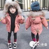 羽絨棉服-女寶寶棉衣加厚冬裝1一3歲小童洋氣外套2女童羽絨棉服-4兒童裝棉襖-奇幻樂園