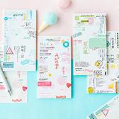 【BlueCat】日系雜誌系列可撕便條紙 記事本 拍照背景