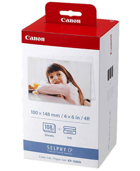 Canon KP-108 相紙含色帶(108張)