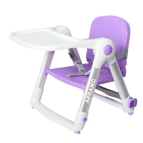英國 Apramo Flippa dining booster 可攜式兩用兒童餐椅(QTI)-紫羅蘭[衛立兒生活館]